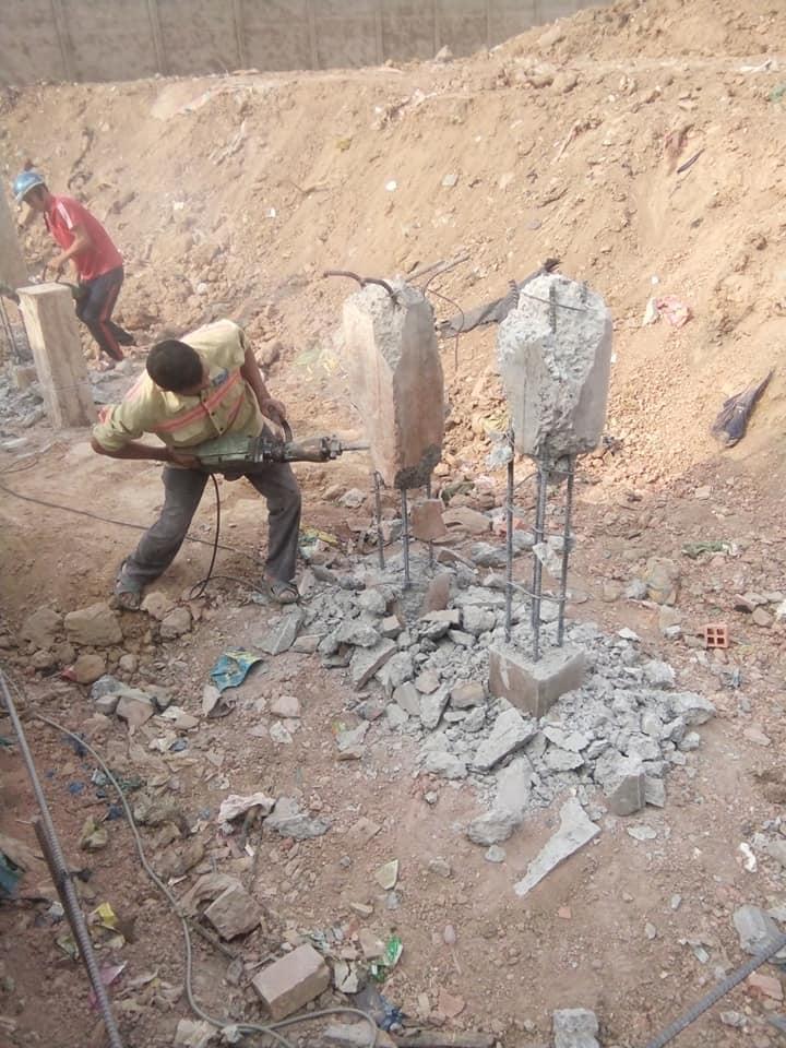 cắt đục đầu cọc bê tông tại bình dương giá rẻ 0988838129