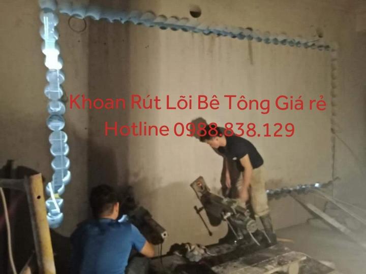 khoan rút lõi bê tông tại tỉnh tiền giang giá tôt 0988 838 129