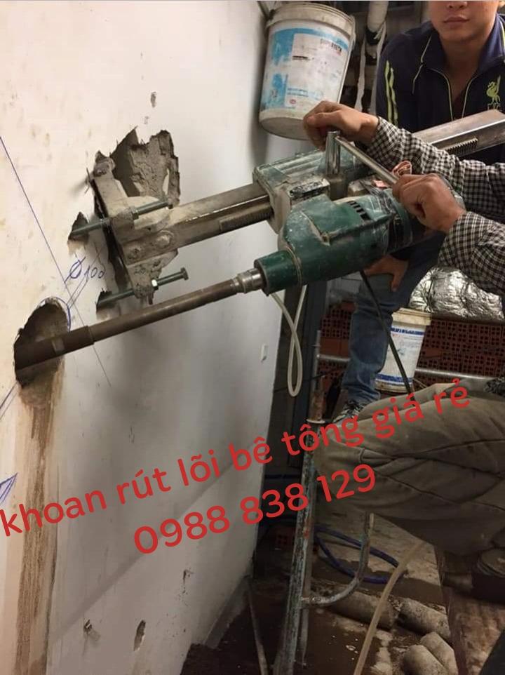 khoan rút lõi bê tông quận thủ đức giá rẻ 0988838129