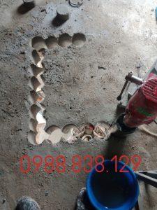 khoan rút lõi bê tông quận tân phú 0988838129 giá rẻ