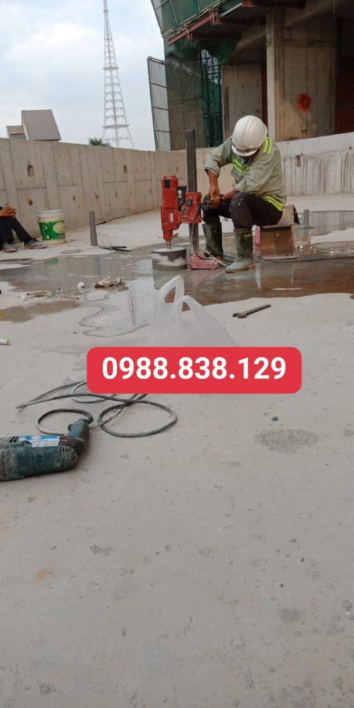 Khoan Rút Lõi Bê Tông Vũng Tàu Giá Rẻ 0988.838.129