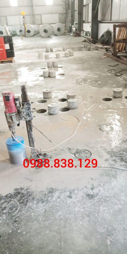 Khoan Rút lõi Bê Tông Tại Đồng Nai 0988.838.129 Uy Tín
