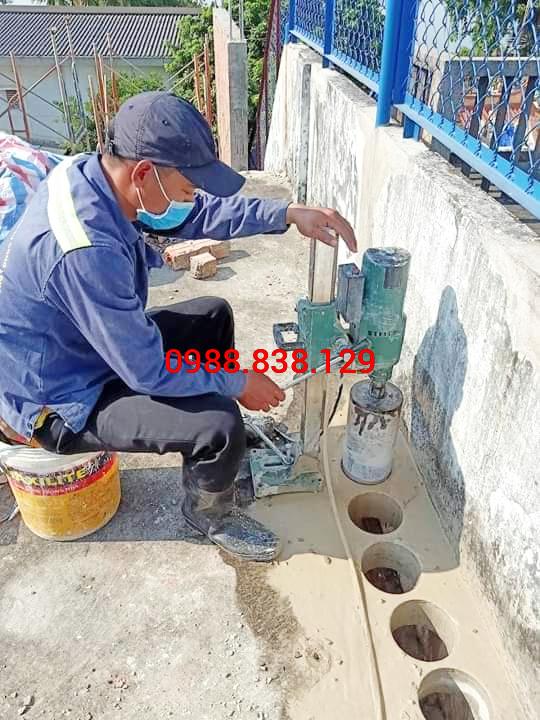 Khoan Sàn Bê Tông Tại Đồng Nai 0988.838.129 Uy Tín