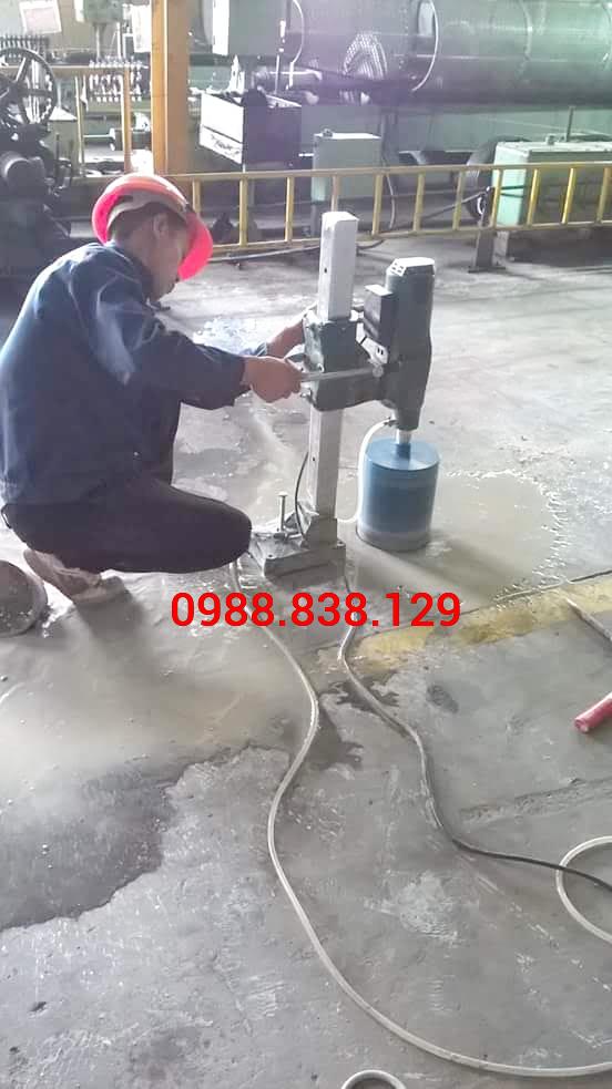 Khoan Sàn Bê Tông Tại Quận Bình Tân Thi Công Chuyên Nghiệp 0988838129